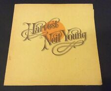 Neil Young Harvest MS2032 1972 USA Song sheet & Paper Sleeve Vinyl Record RARE