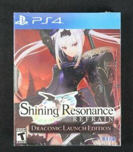 Shining Resonance Refrain Draconic Launch Edition (PS4, 2018)