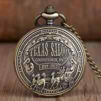 and Brass W5P6 G4287 English Pocket Watches Compass with Engraving Chain