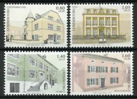 Luxembourg Architecture Stamps 2019 MNH Moselle Region Buildings Tourism 4v Set