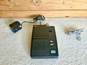 AT&T 1309 REMOTE SINGLE MICROCASSETTE ANSWERING SYSTEM MACHINE • WORKS
