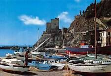 Italy Monterosso Ancient Aurora Tower Antica Torre Aurora Fishing Boats