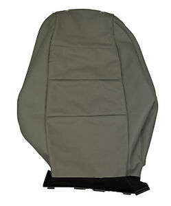 New OEM 2005-2008 Audi A6 Front Left Right Seat Backrest Cover Gray Leather