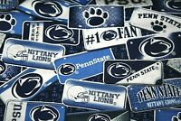 "Penn State Fabric 1 YARD Cotton Material Face Mask Crafts 36"" x 42""  NCAA #"