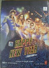 HAPPY NEW YEAR (2014) SHAHRUKH KHAN, DEEPIKA - BOLLYWOOD 2 DISC DVD