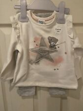 💕Disney Baby Girls Tatty Teddy  jumper & trouser outfit  6-9 months 🧸