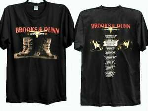 Vtg Brooks and Dunn Farewell Tour T-Shirt Size S-3XL FREE SHPPING !!