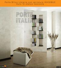 Porta Bilico Libreria con serratura INVISIBILE muro 10 stanza nascosta