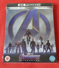 Avengers Endgame - Steelbook 4K Ultra HD Exclusif Zavvi (Blu-ray 2D inclus)