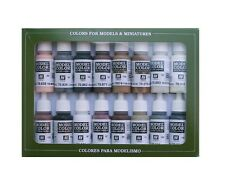 Vallejo 70144 Equestrian Model Color Set 17ml nuevo new