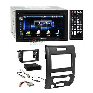 "Soundstream 6.5"" DVD Camera Input Stereo Dash Kit Harness for 09-12 Ford F-150"