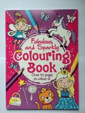 Childrens Colouring Book Fabulous and Sparkly