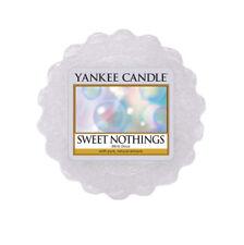 Yankee Candle Tarts Wax Melt  22g   Sweet Nothings