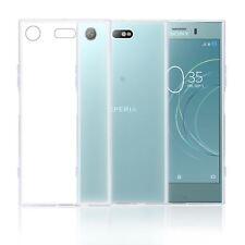32nd Gel Clair Séries - Transparente étui Silicone Sony Xperia XZ1 Compacte