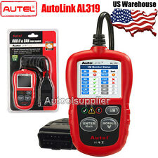 Autel AutoLink AL319 OBDII Code Reader Color Screen Update via Website US STOCK
