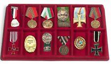 2x Leuchtturm 348091 Münztableaus 12x 95x47x12mm Für Orden Militaria Abzeichen