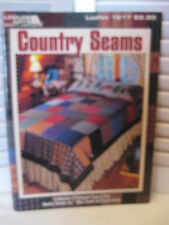 Country Seams Collection of Patchwork Projects By Mary Tendall & Connie Tesene