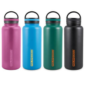 Polar Gear Stainless Steel Water Bottle | Hydra Surge 1 Litre | Vacuum Insulated