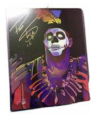 More details for papa shango 11x14 autographed pro wrestling signed wwf wcw coa godfather