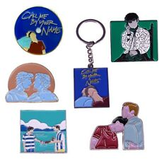 Call Me By Your Name Elio & Oliver BroochCMBYN Fans Art Enamel Brooch Pins
