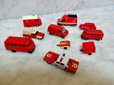 10 x Modellauto - Feuerwehr - Wiking / Brekina / Herpa / Praline usw. - 1:87