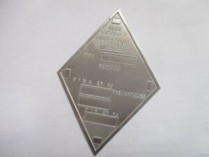 Nameplate Renault Shield R4 R5 R16 R8 R Id-Plate Day s38