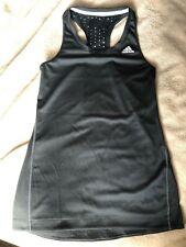 Adidas Gym Vest Black Clima cool size XS UK size 6
