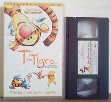 VHS FILM Animazione Walt Disney T COME TIGRO winnie pooh ex nolo no dvd(VHS23)