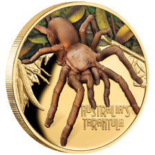 Niue 100 Dollar 2020 Deadly & Dangerous Tarantel - Sonderausgabe - 1 Oz Gold PP