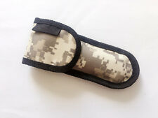 "EDC New Nylon Pouch Sheath Bag For Folding Knife Up to 5.51"" closed length Case"