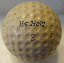 VINTAGE  DIMPLE GOLF BALL-THE HAIG HAGEN DISTANCE CADWELL GEER COVER