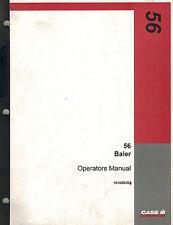 CASE IH 56 SQUARE  BALER OPERATOR'S  MANUAL