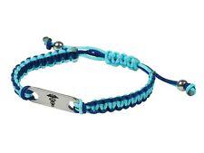 Medical Bracelet Ladies Mens Girls Boys Black Blue Red Pink Diabetic Epilepsy ID
