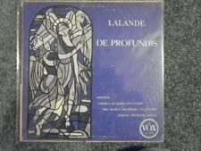 Marcel Couraud - Lalande De Profundis LP VG+ Pl 9040 Vox Ed1 1955 Record d recor