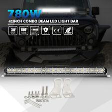 """42"""" LED Light Bar 780W Cree Chips Winter Fog Snow Lamp Offroad Truck Pickup UTV"""