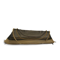 NOS Catoma Pop-Up Bed Net Shelter/Tent  Coyote Brown