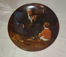 New ListingVintage Norman Rockwell Plate Heritage Collection #6 The Tycoon