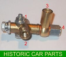 """MG TD & TF 1950-55 - ⅜"""" BSF BRAKE FITTING including Union for Light Switch"""