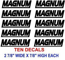 MAGNUM STIHL STICKER DECAL CHAINSAW O38 046 MS 440 460 066 660 SAW  BLACK