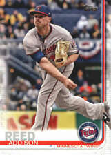 2019 Topps #193 Addison Reed Twins