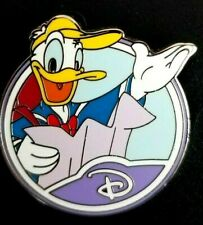 Disney Pin 88458 Wdw - Mystery Collection - Circle Icon 'D' - Donald Duck Only