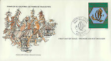 L0649ven Stamps of All Countries - Wallis and Futuna fdi cover
