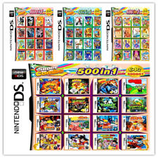 208/488/500/520 IN 1 Games Card Cartridge Multicart For Nintendo DS 3DS 2DS R4
