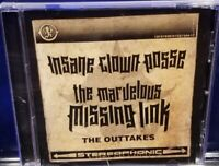 Insane Clown Posse - The Marvelous Missing Link Outtakes CD twiztid hatchet man