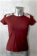 bonito camiseta burdeos niña BURBERRY talla 14 años EXCELENTE ESTADO