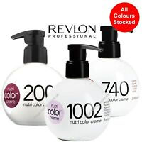 Revlon Nutri Color Conditioner Creme For Hair. All Colours Stocked. 250ml