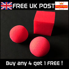 Sponge Balls to Square / Cube - Close-up Magic Trick - NEW