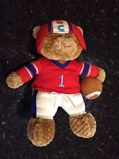 "13"" Baby Gund MVB Most Valuable Baby Football Bear MVP plush bean bag stuffed"