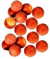 Cedar Wood Balls Natural Moth Repeller Deterrent Wardrobe Drawers Pack of 24