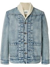 Levi's Made & Crafted Shawl Collar Trucker S Denim Jacket Jeans 501 Sherpa